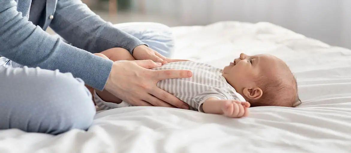 Babymassage zum einschlafen